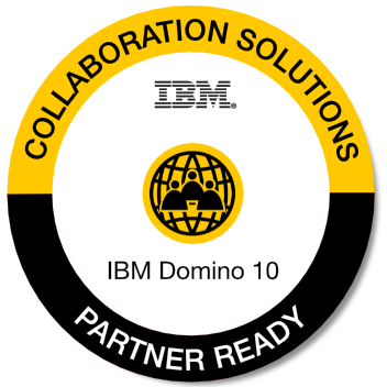 IBM Domino V10 Ready Partner!